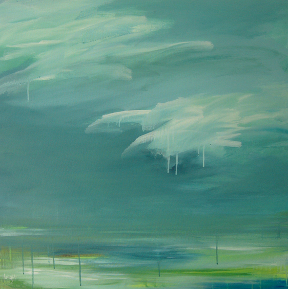 """glacer  30"""" x 30""""  janet bright"""