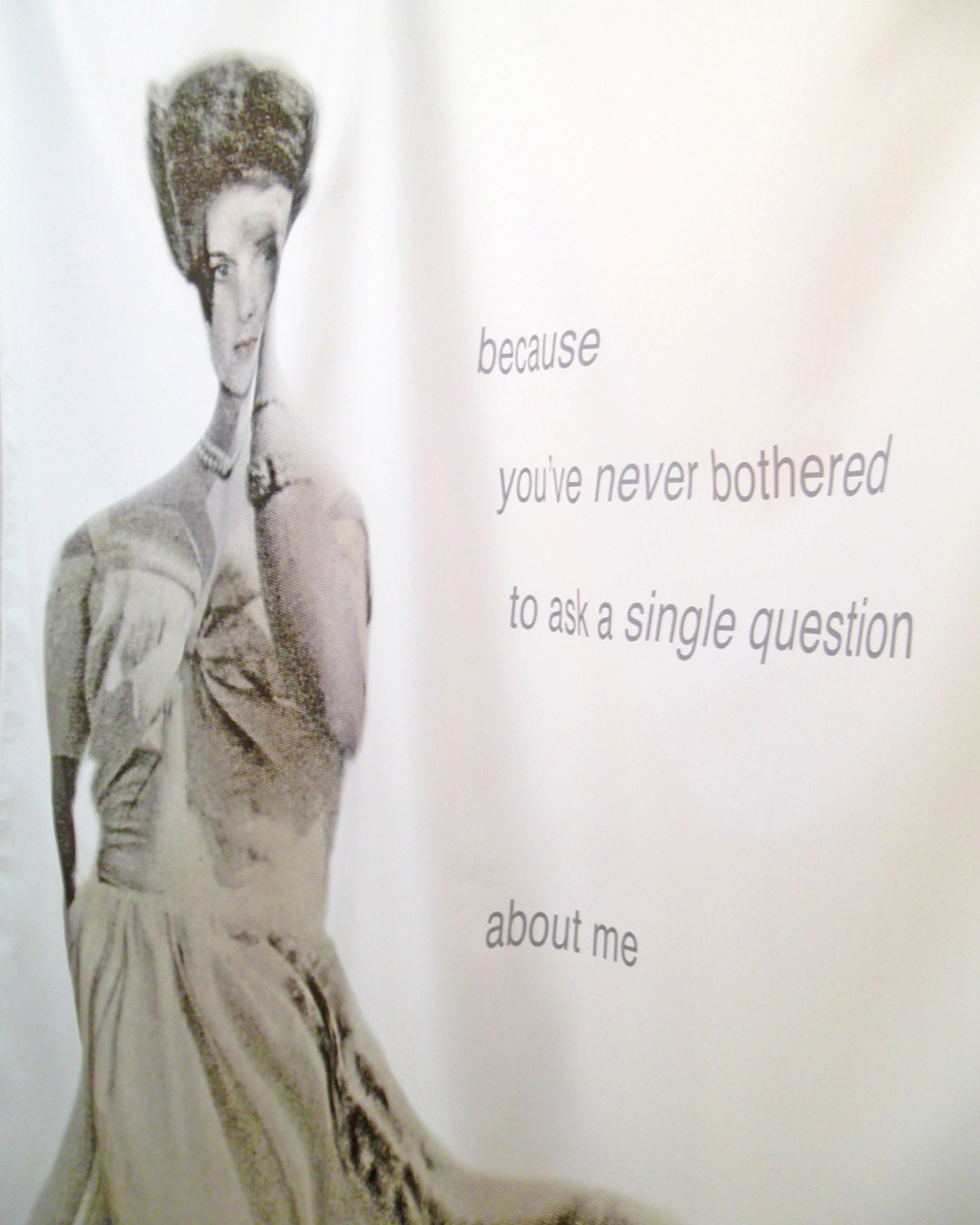 you don t know me installation janet bright