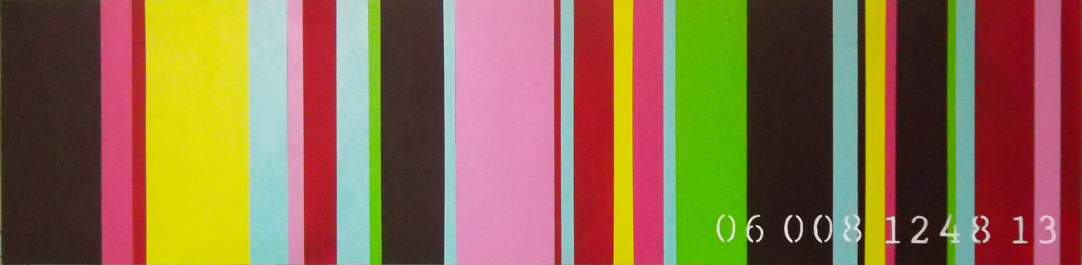commodity of colour 06 008 1248 13 8th in series 12 x 48 2013 janet bright