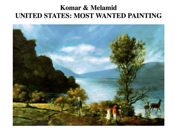 The Most Wanted painting survey Komar and Melamid