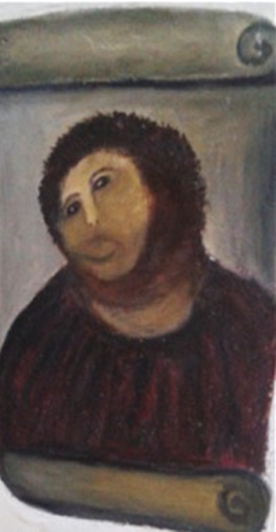 """Ecce Homo"""" by painter Elias Garcia Martinez"""