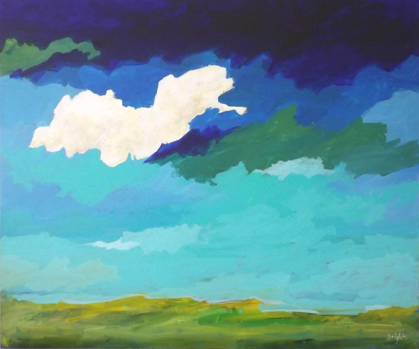 i can see for miles and miles painting janet bright on canvas landscape canadian art