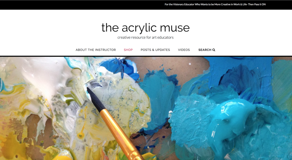 acrylicmuse acrylic painting creative resource for art educators painting how to paint with acrylics