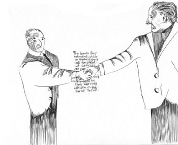 drawing art politico illustration