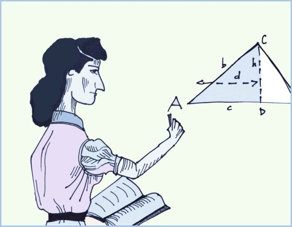 art every day number 35 drawing math trigonometry