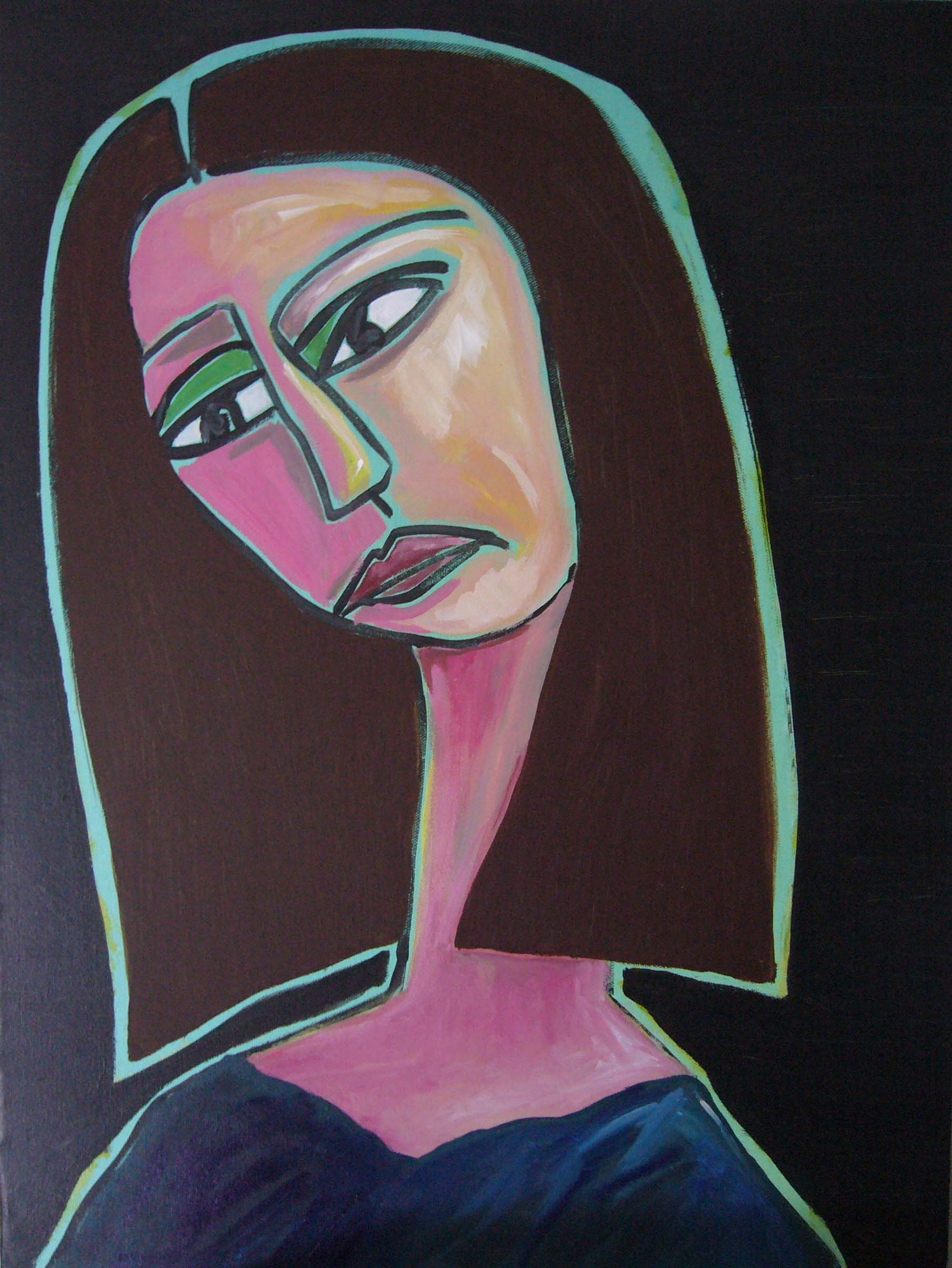art every day number 104 painting self portrait