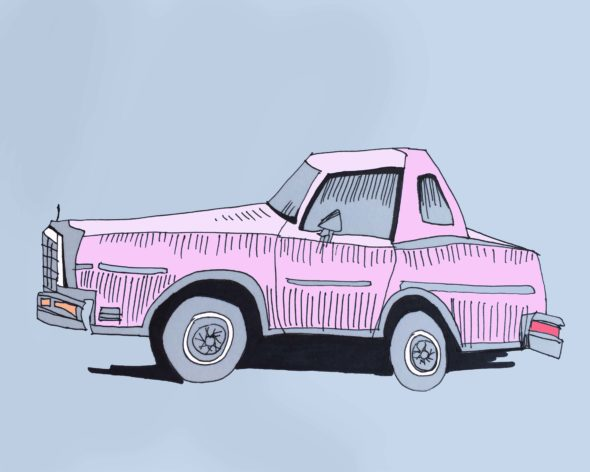 art every day number 112 illustration drawing the other car
