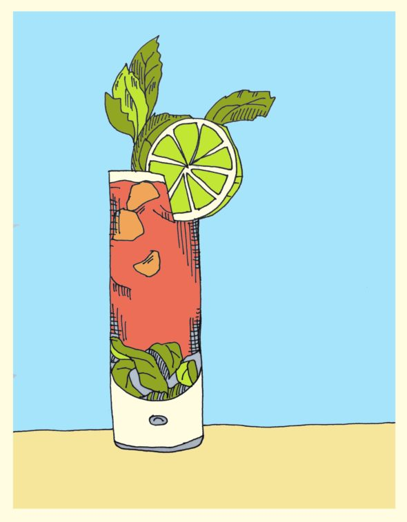 art every day number 138 illustration drawing friday fancy drink