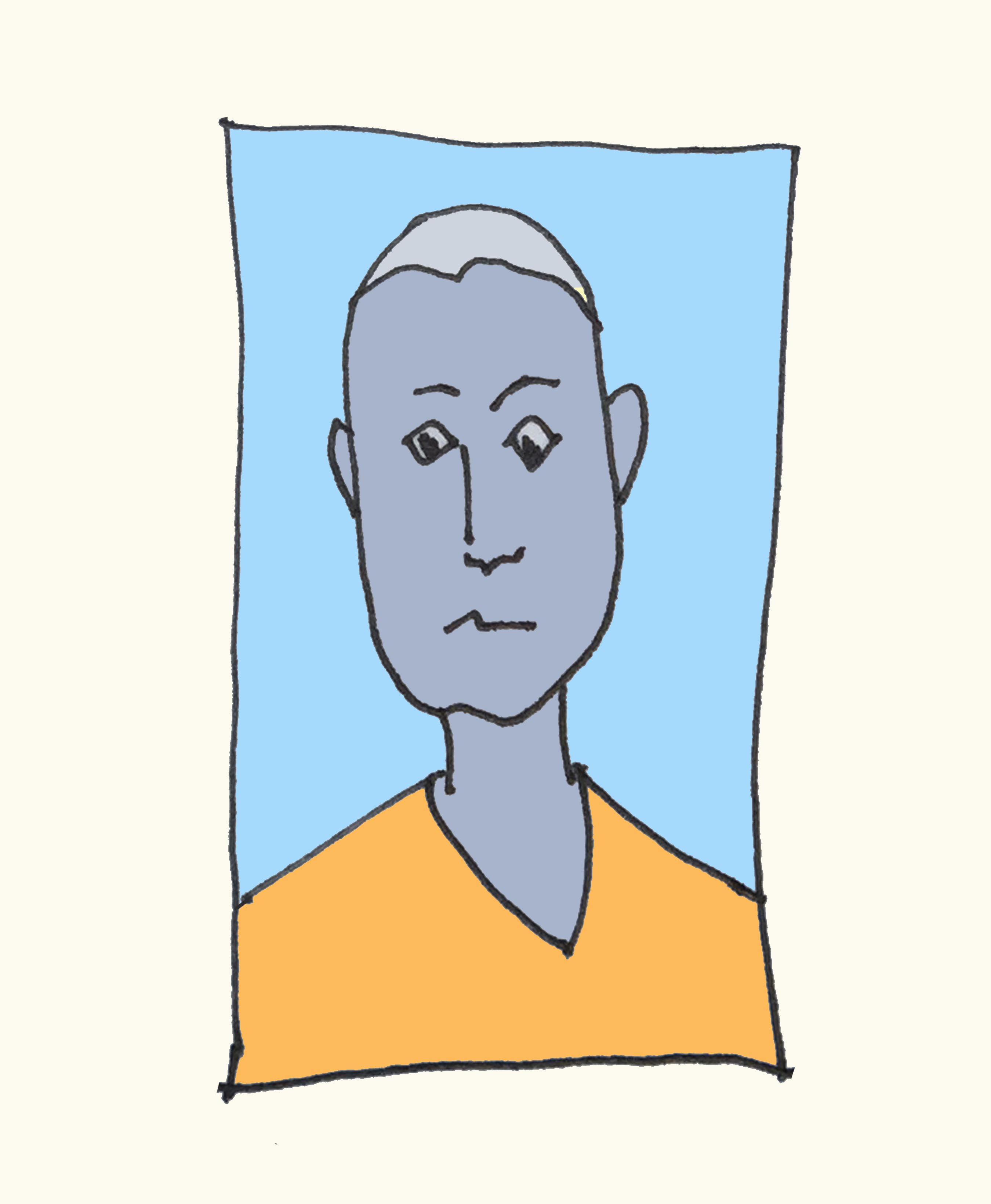 art every day number 175 illustration drawing personal profile