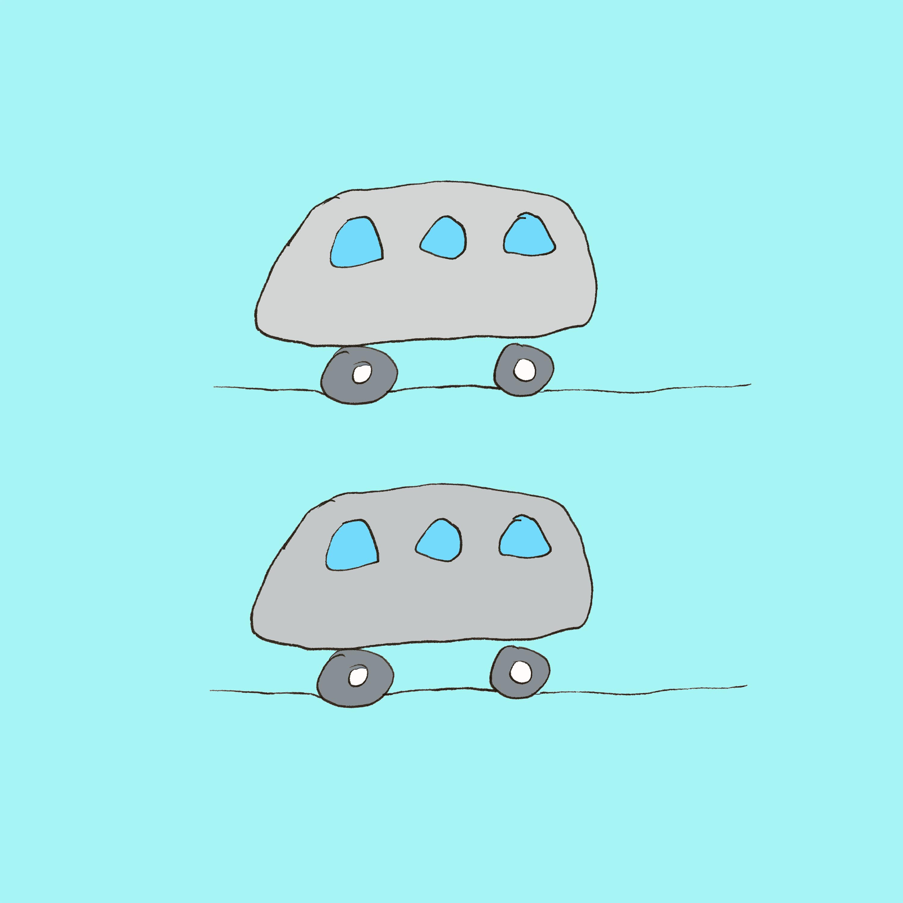 art every day number 181 the driverless car illustration drawing