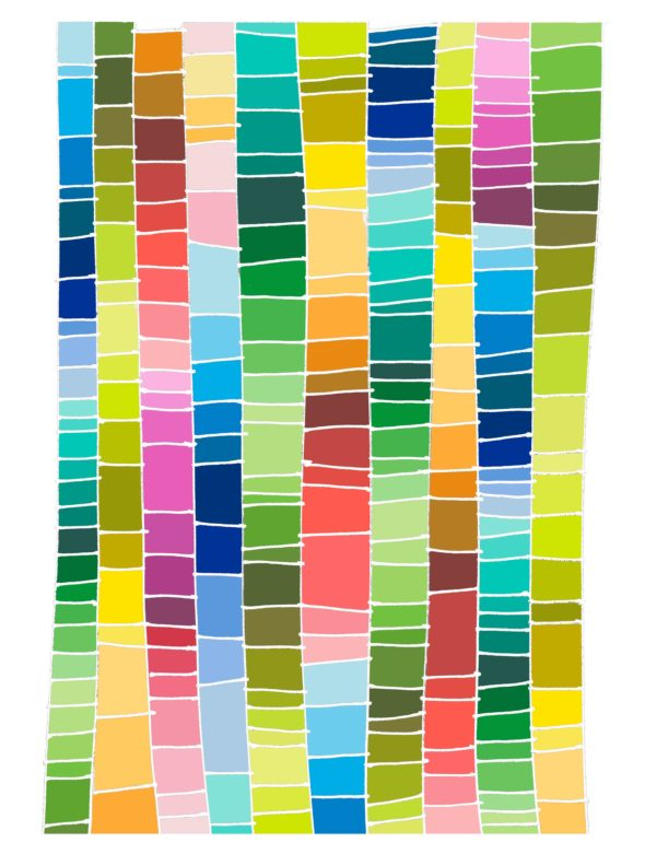 art every day number 235 doodle lines art everywhere colour