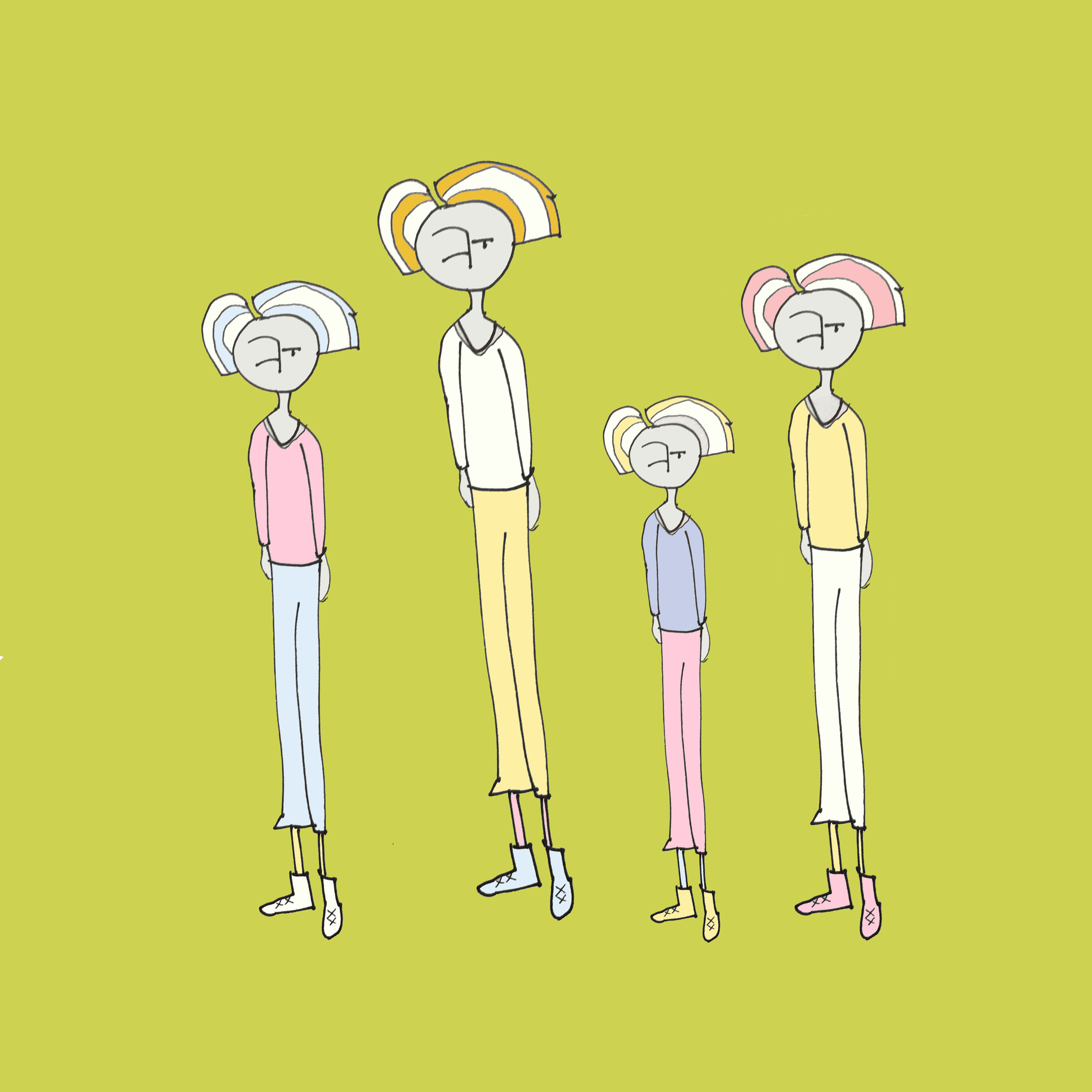 art every day number 233 family relatives illustration