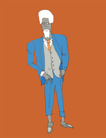 art every day number 234 suit man in suit style wear
