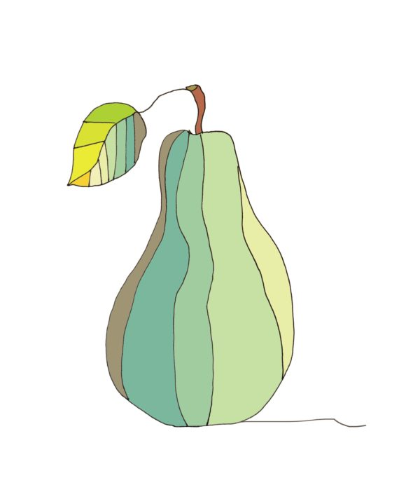 art every day number 254 pear green yellow colour combination color